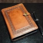 Deb Mackie - Leatherbound Journal - The Palette & The Page