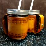Deb Mackie - Leather Mug Holder - The Palette & The Page