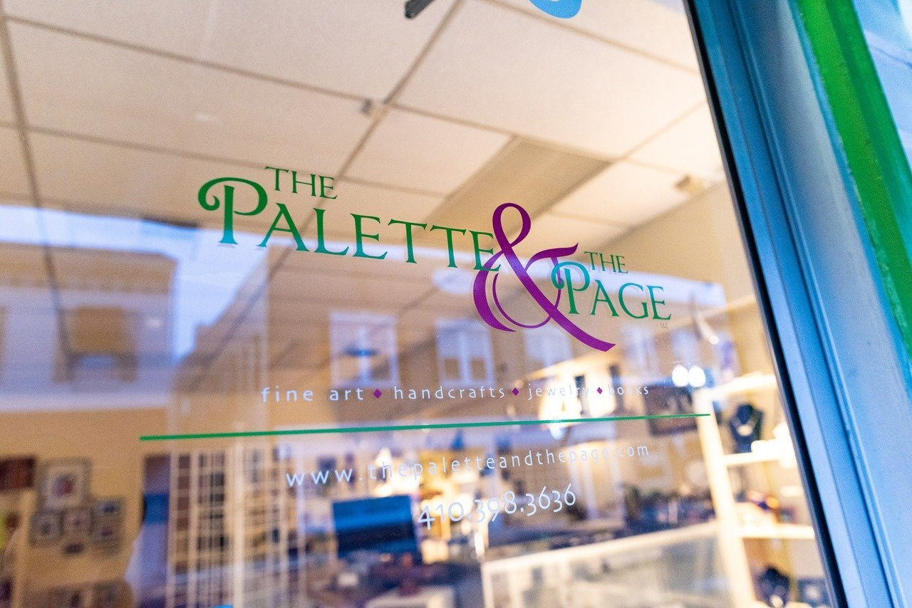 The Palette & The Page Store Front - Cecil County Maryland