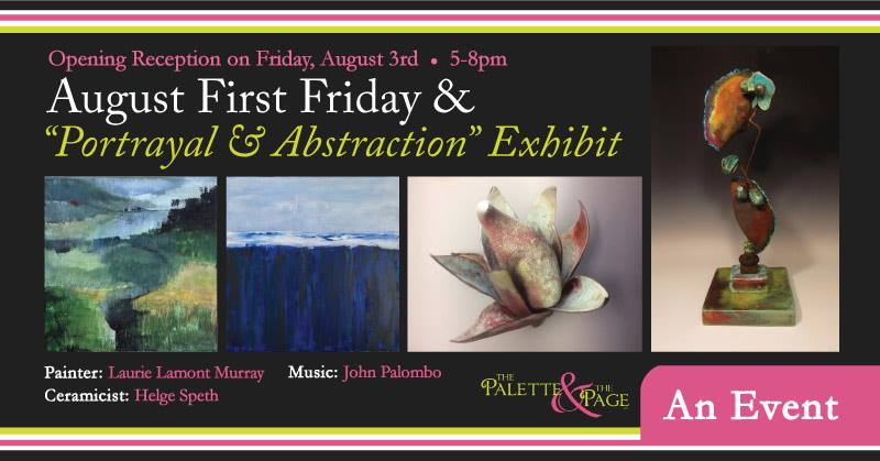 August 2018 First Friday - The Palette & The Page - Elkton, MD