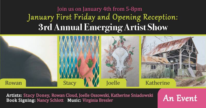 January 2019 First Friday - The Palette & The Page - Elkton, MD