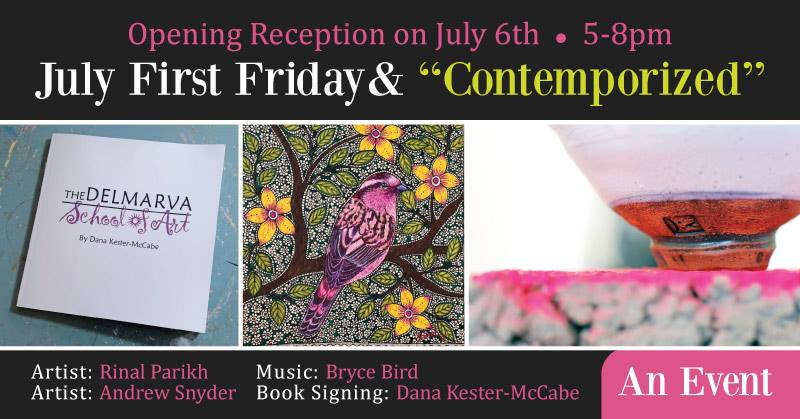 July 2018 First Friday - The Palette & The Page - Elkton, MD