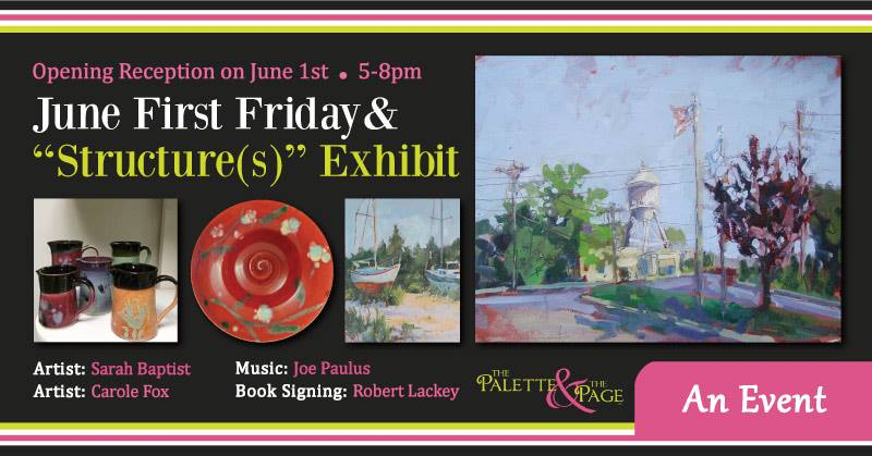 June 2018 First Friday - The Palette & The Page - Elkton, MD