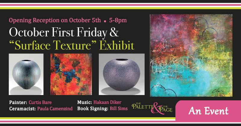 October 2018 First Friday - The Palette & The Page - Elkton, MD