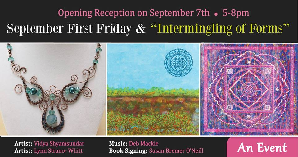 September 2018 First Friday - The Palette & The Page - Elkton, MD