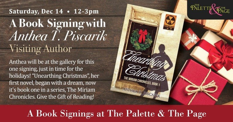 Anthea T. Piscarik Book Signing - The Palette & The Page